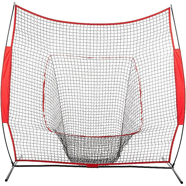 High Quality 7FT Portable Folding Baseball Hitting Net Softball Goal Baseball Practice Net
