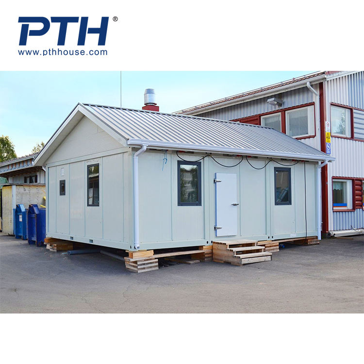 PU Container house office Living with Good Thermal Insulation in Cold Place