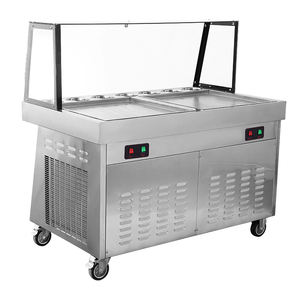 High capacity machine for fried ice cream/roll ice cream machine fried