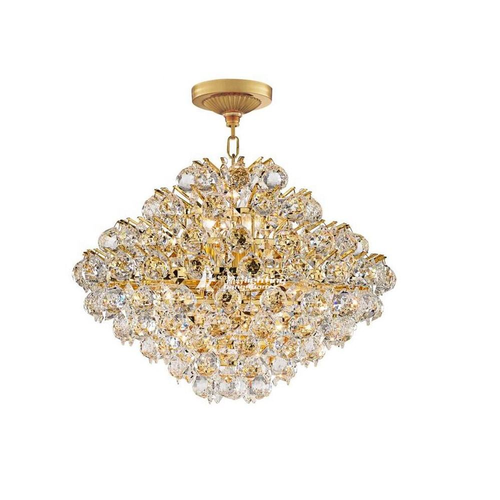 latest design asfour crystal chandeliers modern small crystal chandelier with gold color