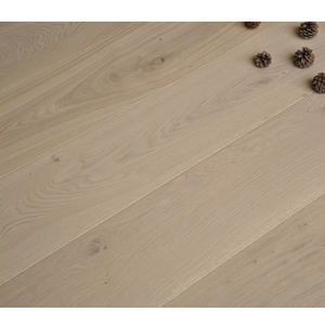 Oak Solid Wood Top White Mobile In
