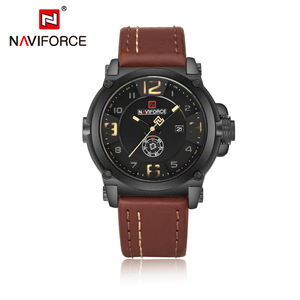 NAVIFORCE 9099 Luxury Brand Wholesale 2019 Fashion 3 ATM Water Resistant Custom Men Watches Relogio Feminina