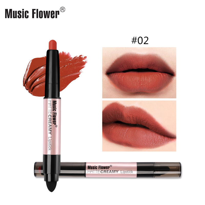 Professional New Creative Moisturizing Long lasting Easy to Wear Private Label Matte Lipstick Creamy Waterproof lip stick