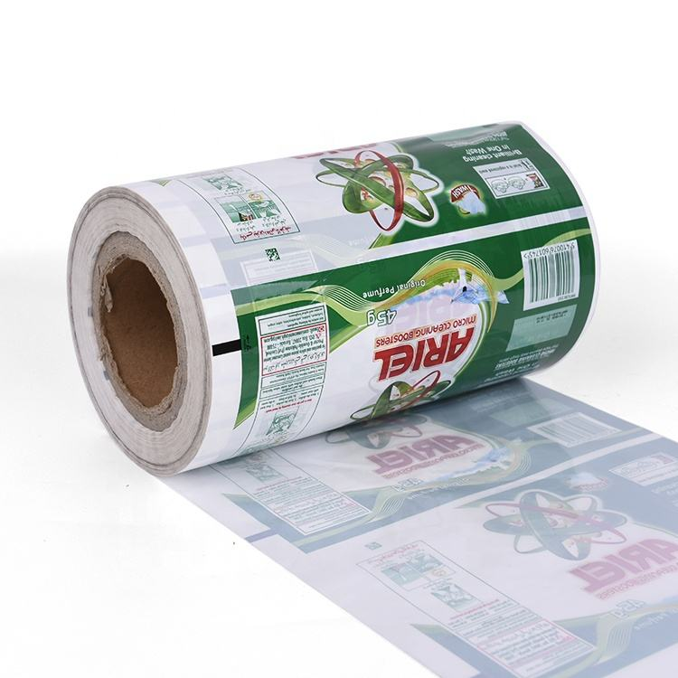 Custom printed BOPP/CPP/PE/OPP 125 micron plastic food packaging roll film