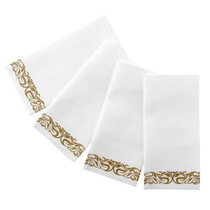 Airlaid Serviettes de Table et Serviettes