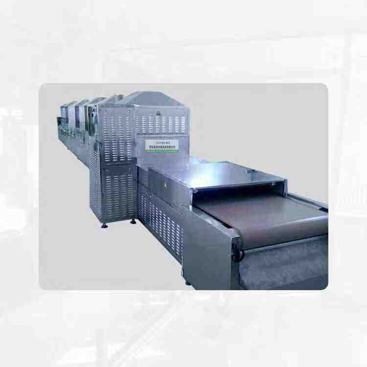Industrial túnel <span class=keywords><strong>microondas</strong></span> medicina líquida oral horno de secado secador de la máquina