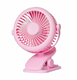2200mah battery XH09 rechargeable portable mini fans with clip for summer