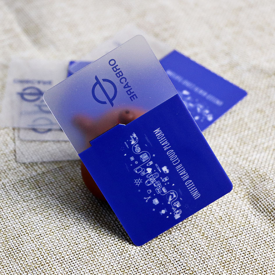 Customer manufacturer printed plastic loyalty membership VIP card