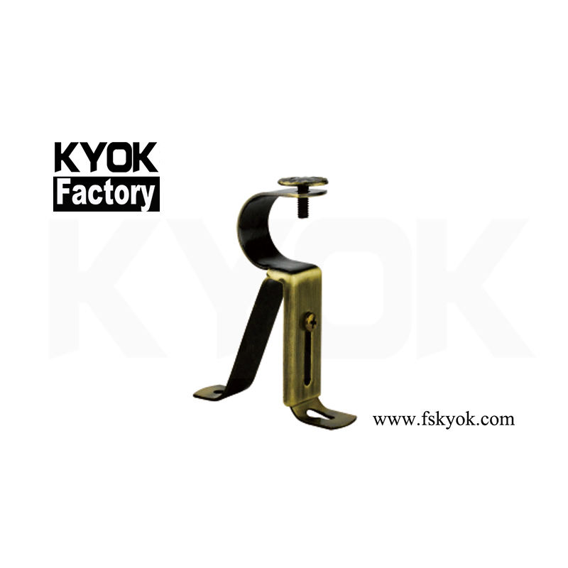 KYOK Curtain Bracket Curtain Socket Stage Brackets For Pipe Design American Quality Iron Curtain Bracket Accessories M913
