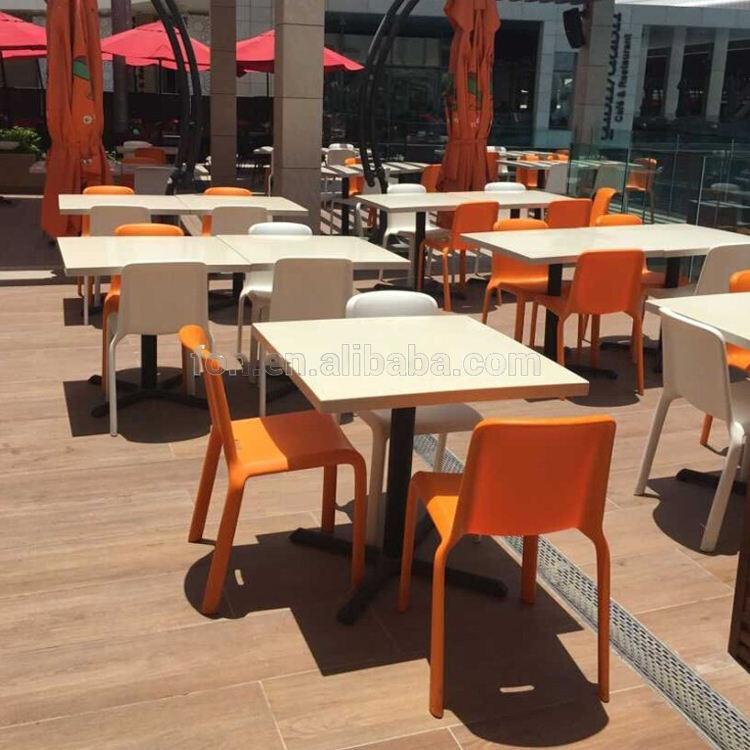 Мексиканский ресторан стулья на открытом воздухе мебель пластик Ресторан стол и стулья