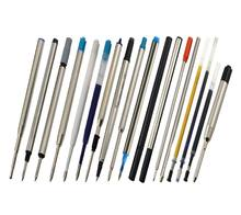 Factory OEM Custom Brand Logo Blue Ink Replacement Pen Refill Type PK CR Ball Gel Pen Refill MB Capless Rollerball Refill