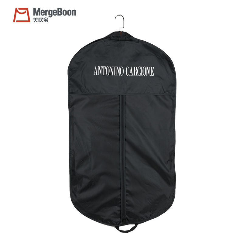 공장 custom foldable polyester 한 벌 cover garment bag 대 한 여행