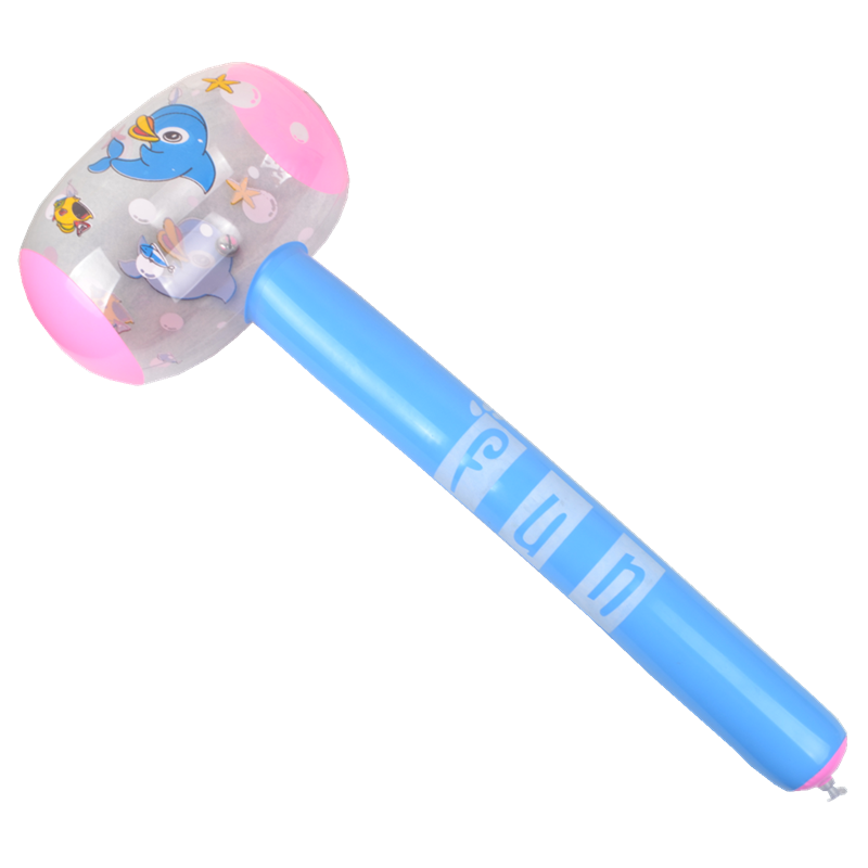 Inflatable toys 69cm soft handle inflatable hammer for children's Entertainment