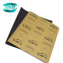 120 to 2000 Grit Wet Dry Silicon Carbide Automotive Abrasive Paper Sandpaper for car