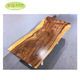 Hot sale ecuador suar wood walnut slab table / factory supply solid wood live edge slab table