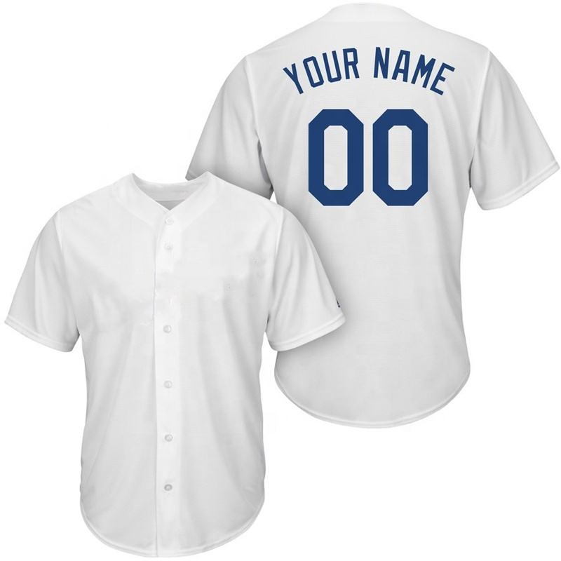 Custom Baseball Shirt Sublimated Wholesale Blank Softball Baseball Jerseys