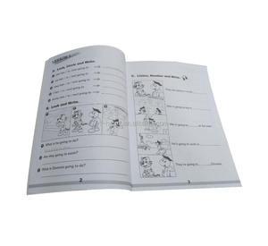 Niños inglés gramática vocabulario aprendizaje libro para estudiante