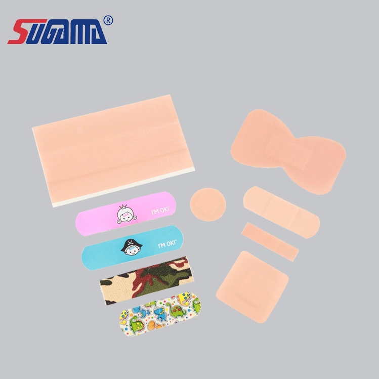 China manufacturer prices CE/ISO approved disposable band aid/wound plaster