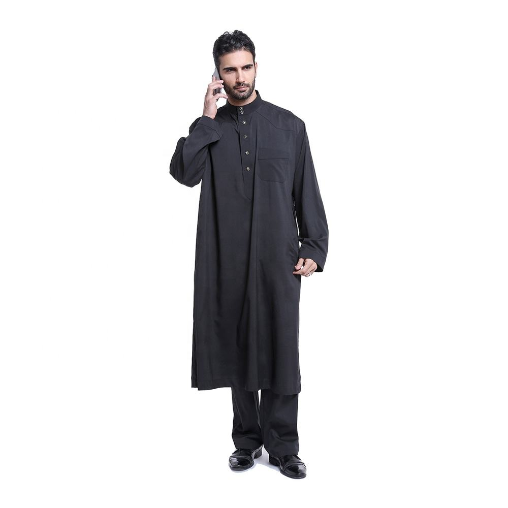 Men's Thobe's - Saudi Daffah Thobes Arabian Robes of Muslim clothing - mens Thawb
