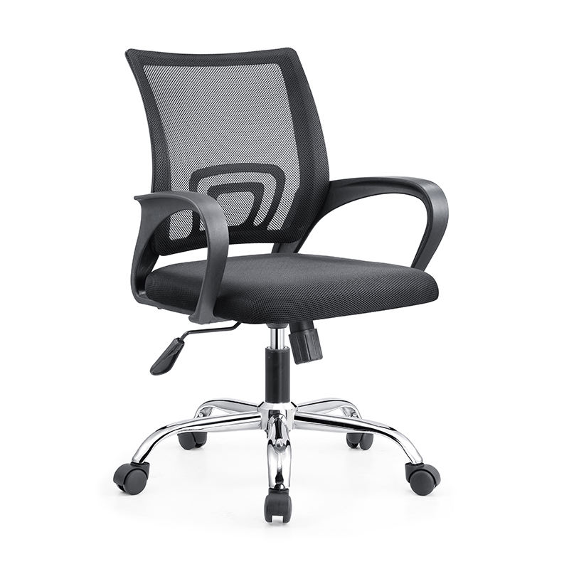 2019 New style factory directly supply mid-back plastic office swivel ergonomic mesh executive office chair