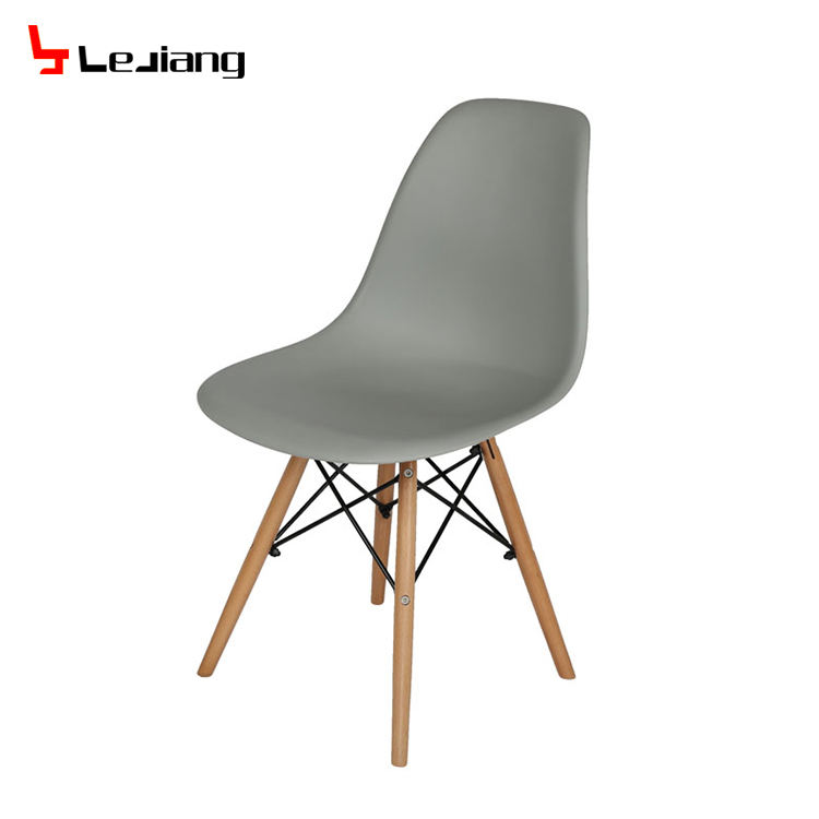 Free Sample Modern Branded Cheap For Sale No Arms Stackable Design Dine Coffee Philippin Leisure Pp Plastic Chair With Cushion