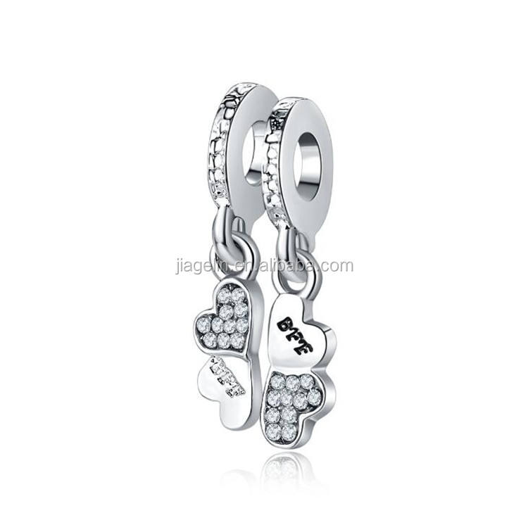European and American hot alloy pendants family family life tree pendant beads diamond bracelet accessories