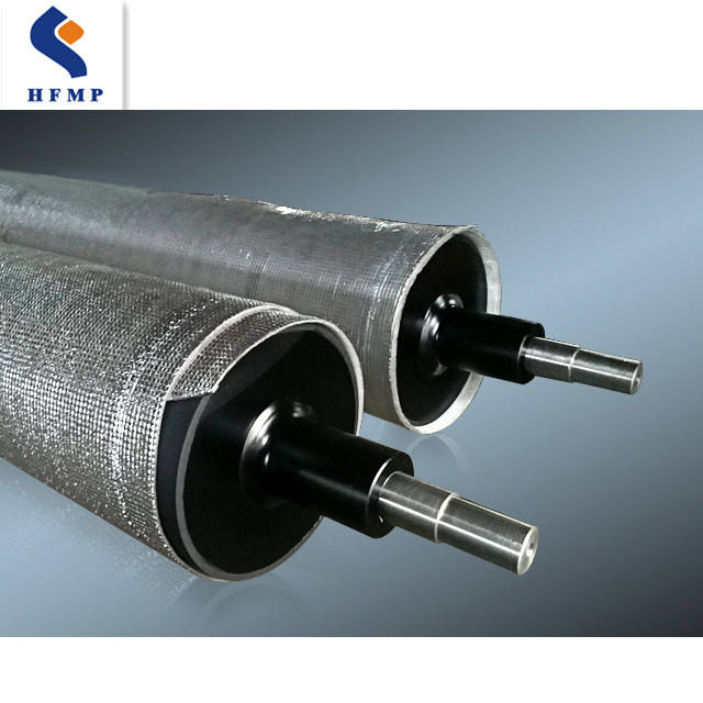 precision conveyor rollers, custom coated roll