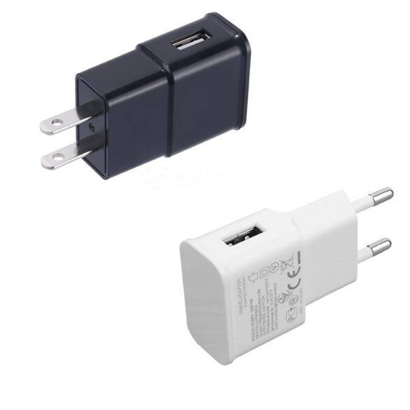 5V 1A mobile charger CE certification EU US Plug fast usb charger for samsung phone and more