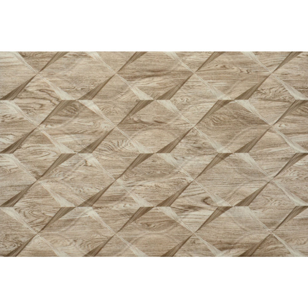 brown wave pattern 200x300 ceramic wall tile
