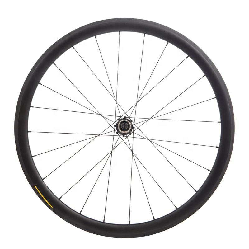 30mm Carbon Rim Clincher 20h 24H Road Bike Race UD Matt wheel 700C 25mm wide