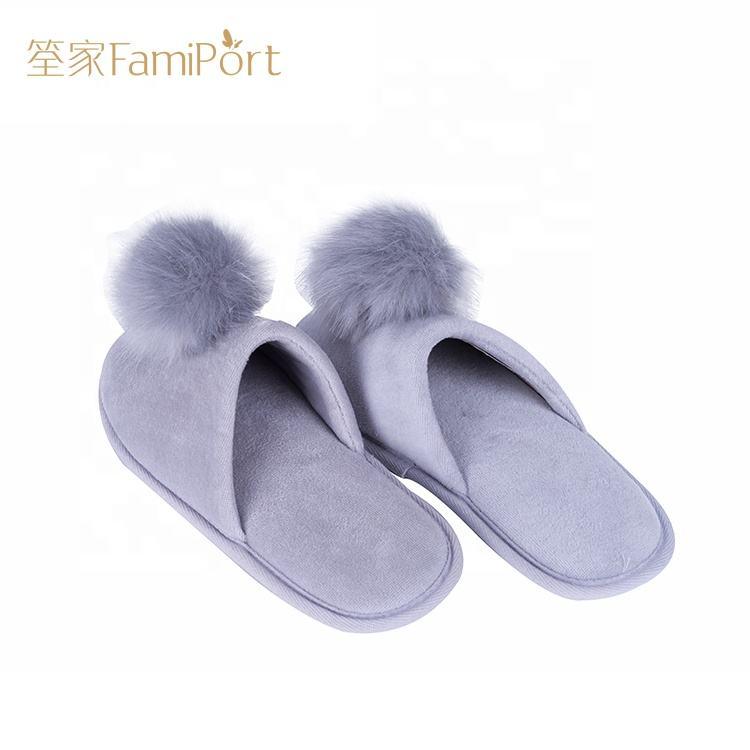Barato al por mayor de <span class=keywords><strong>casa</strong></span>, adultos zapatillas Zapatillas de invierno de mujeres cama zapatillas
