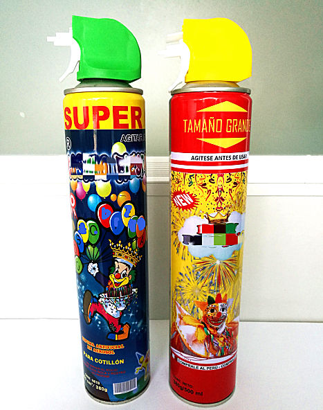 500ml 540ml carnival snow spray carnival spray