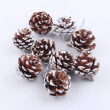 Christmas Trees Party Hanging Pine Cones Baubles Xmas Ornaments Home Decorations