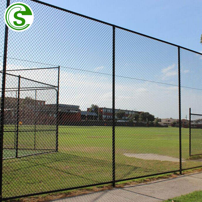 Sports fencing for baseball fields / sport court fence netting