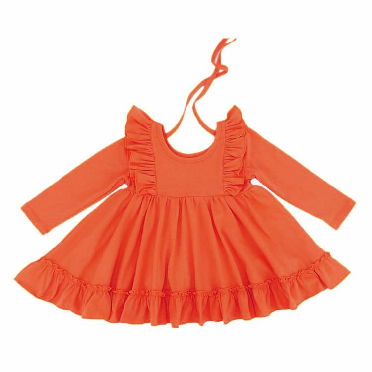 Boutique nuevos productos de <span class=keywords><strong>moda</strong></span> de chicas super giro vestido de los niños del bebé vestido de volantes
