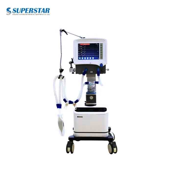Hot-sale Medical Ventilator Machine in Manufacturing Price CE Marked ICU Using Medical Ventilator