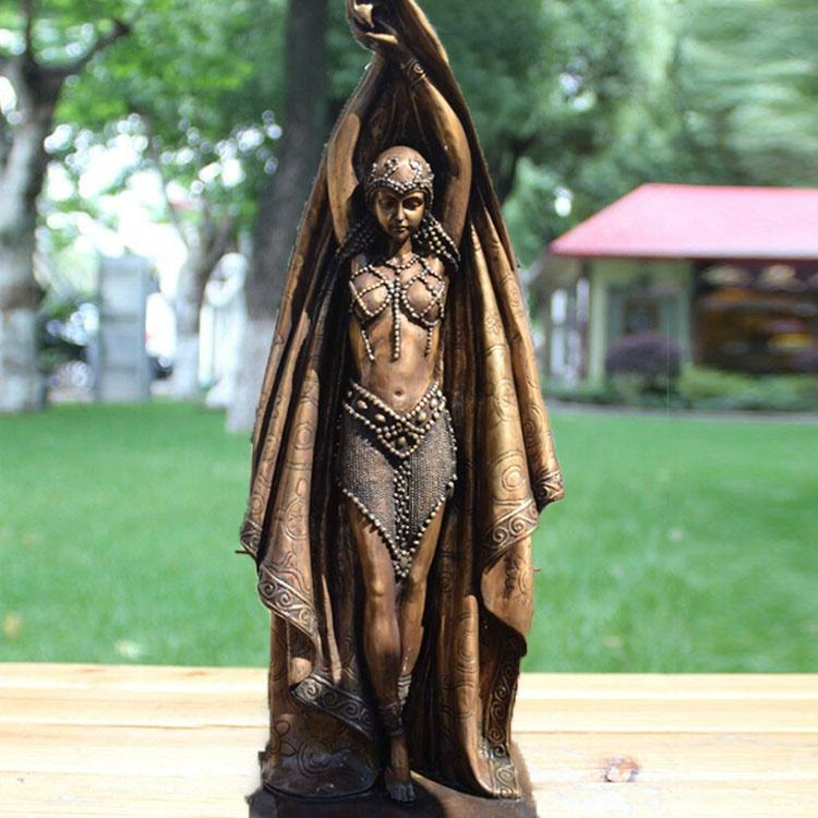 Western Style Bronze Sculpture Bronze Dancing Lady