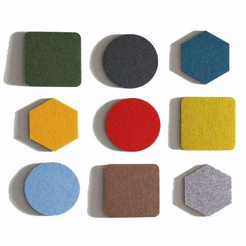 Wholesale Bulletin Board Felt Memo Board Felt Pushpin Board Wall Decoration