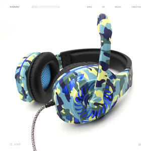 Camo Shen Zhen gaming headset 7,1 surround sound usb verdrahtete stilvolle spiel mikrofon kopfhörer gaming headset