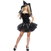 PoeticExst Suppliers Wholesale Sexy Witch Halloween Costume Women