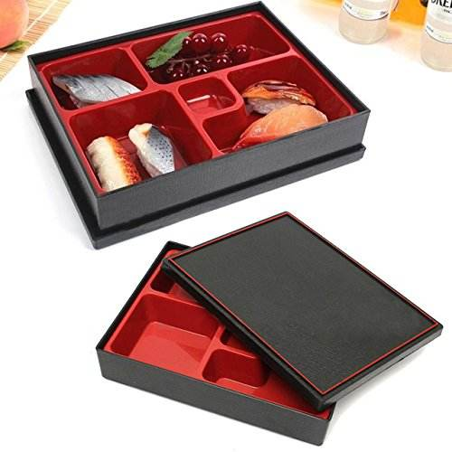 Supplying Kitchenware Japanese Style Tableware Traditional Bento Boxes in ABS, Melamine, Disposable Sushi Bento Box