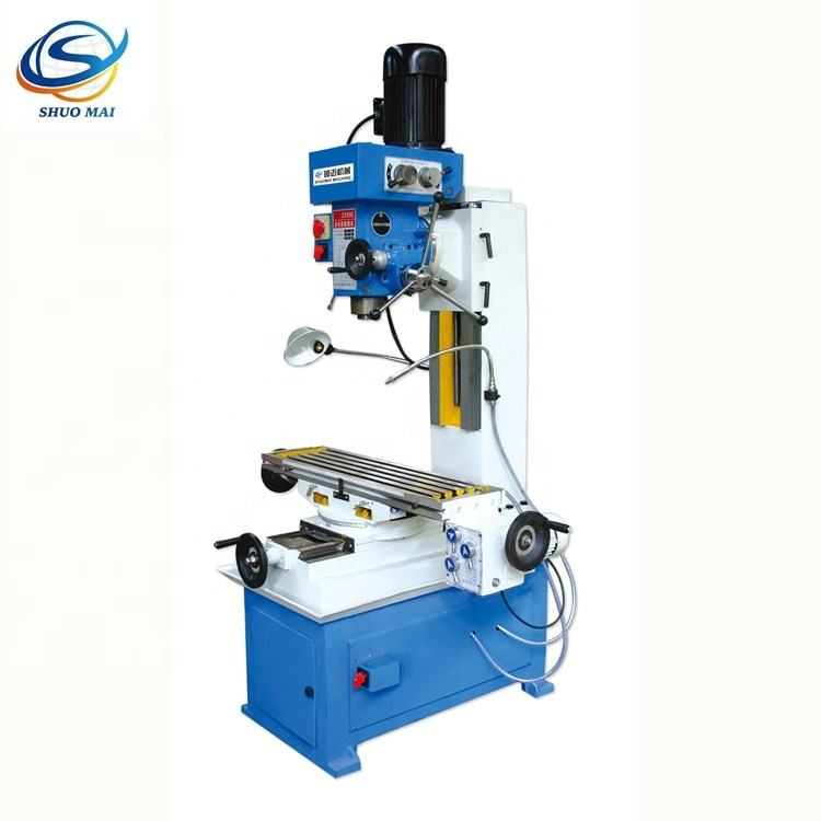 China drilling and milling zx50 milling machine for metal