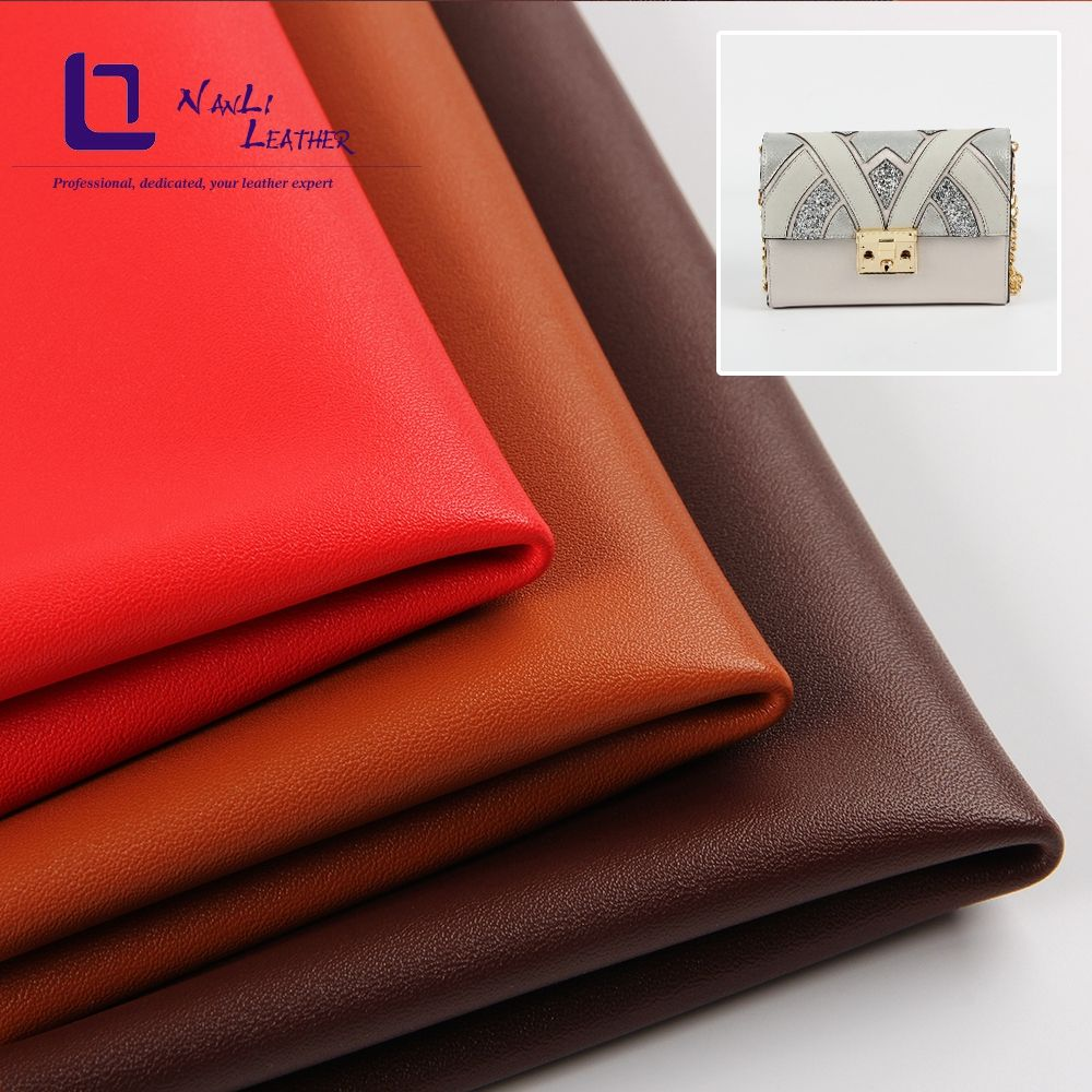 Artificial leather pu scratch-resistance environmental upholstery leather for knapsack