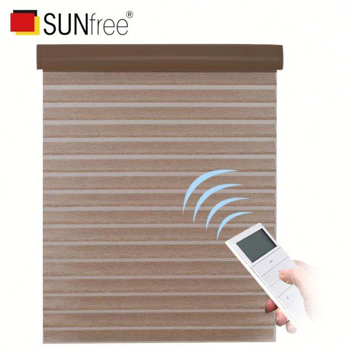 Cordless double pleated day night honeycomb blinds/top down bottom up pleated cellular shades