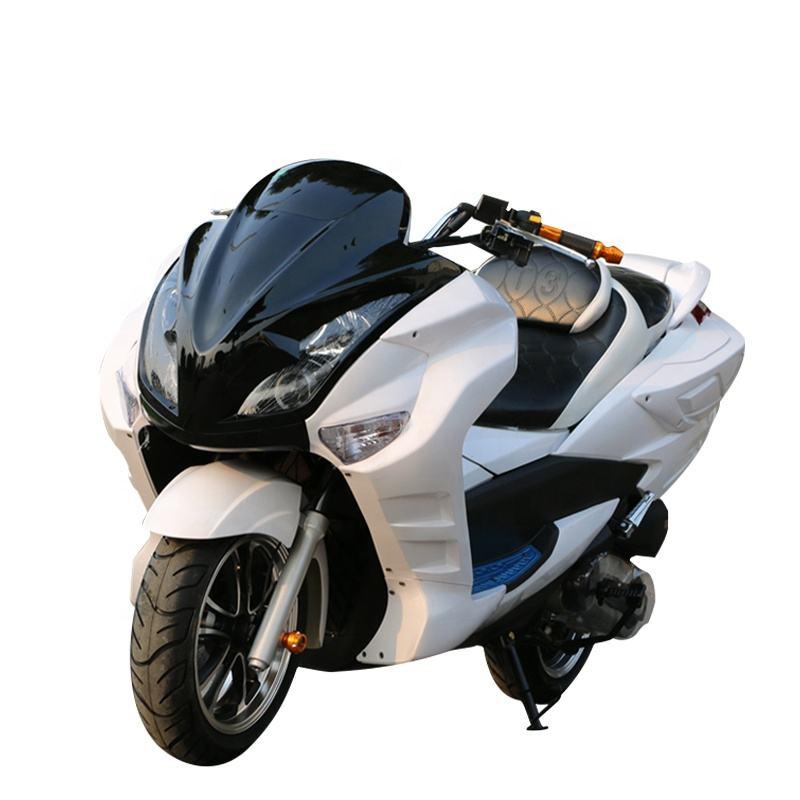 Comfortable leather cushion 150cc gasoline scooter cheap sale