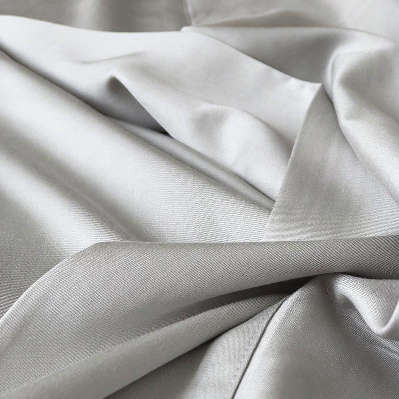 144TC-250TC poly50% cotton 50% plain white star hotel bed sheet fabric in roll