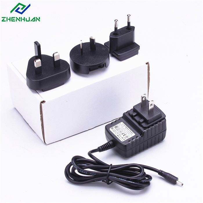 UK US EU AU Austauschbaren Stecker 12v 1a 2a 3a Power Adapter Für Led Licht