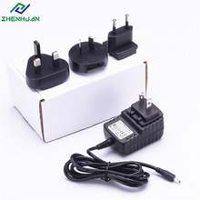 UK US EU AU Interchangeable Plugs 12v 1a 2a 3a Power Adapter For Led Light