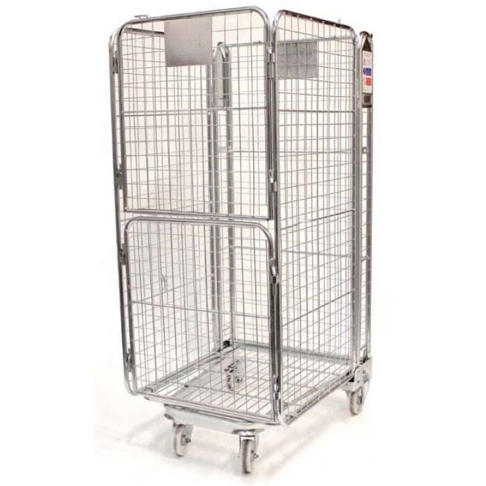 Metall roll draht mesh container