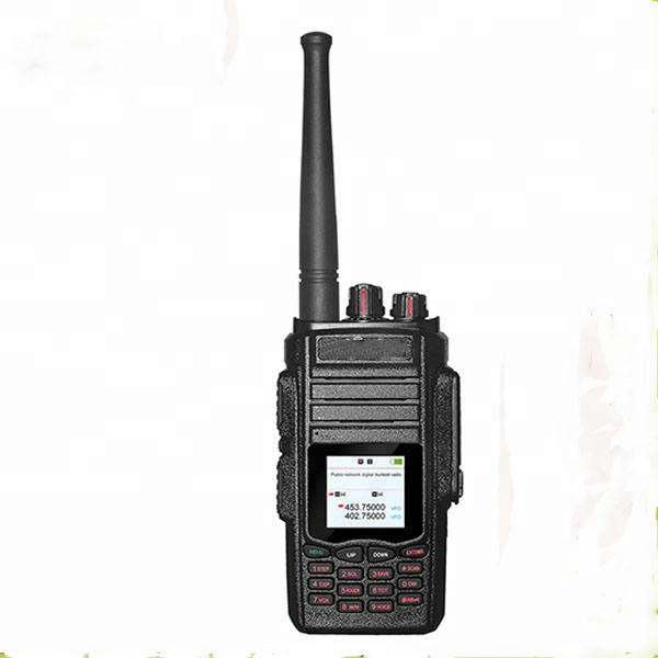 Free Shipping Two Way Radio Dual Modes GSM WCDMA SIM Card IP Radio and VHF UHF 200 Mile Walkie Talkie With Scrambler